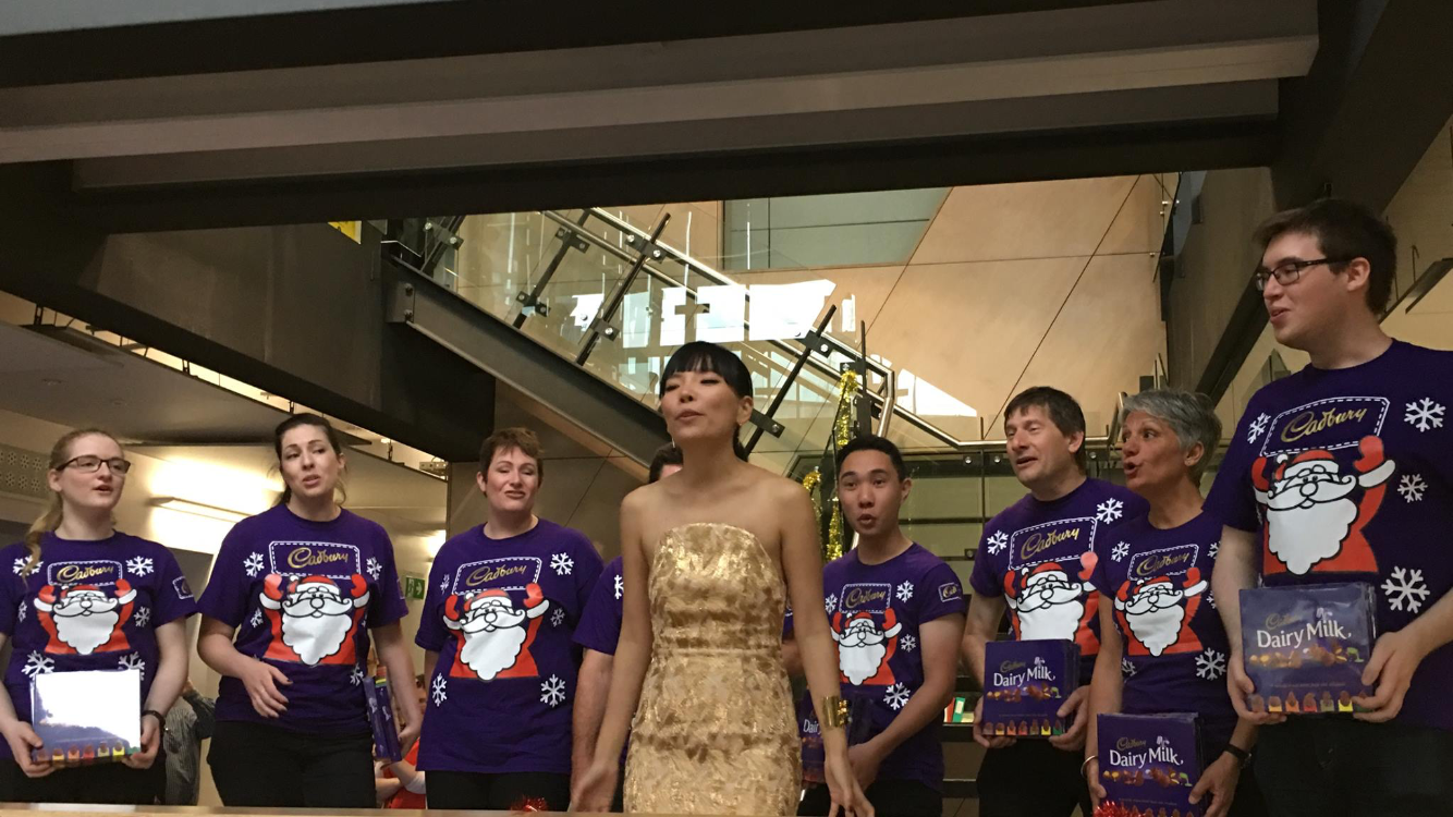 Cadbury Chorus with Dami Im
